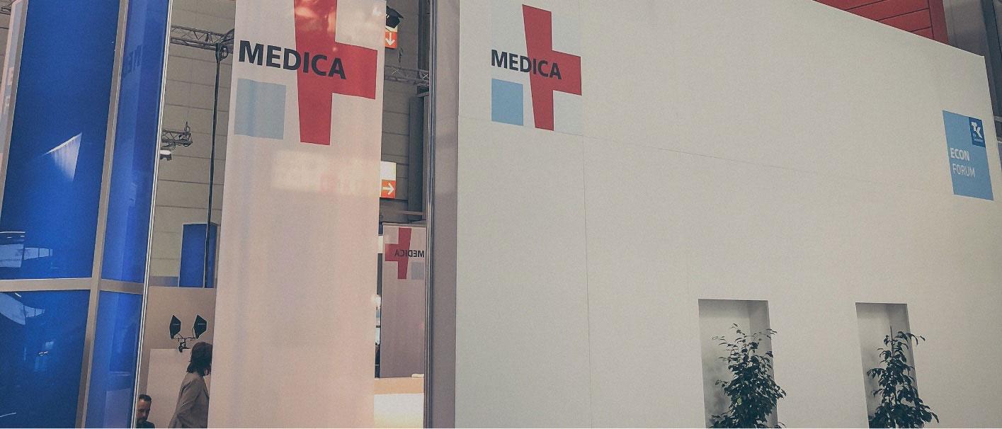 tomedo auf der Medica-Messe