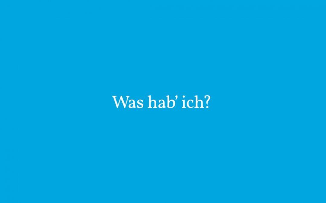 Einfache Sprache I: Was hab' ich?
